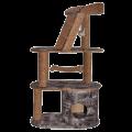 Игровой комплекс трехуровневый (с лестницей, гамаком)