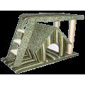 """Игровой комплекс """"Анна"""" с лестницей ( со съемным домом П-2)"""