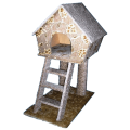 Дом с лестницей