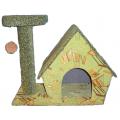 Дом малый с когтеточкой