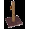 Когтеточка - столб на платформе веревочная